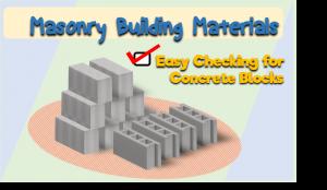 masonry building materials
